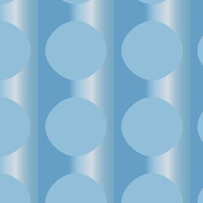 Pale Blue Floating Circles