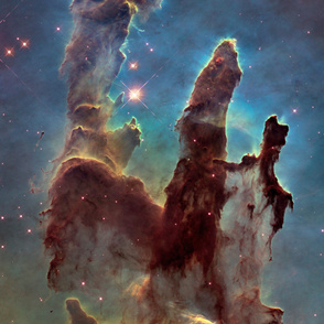 Pillars of Creation Curtain