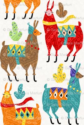 llamas-colors