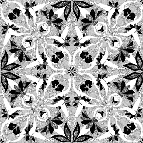 ballet-bandw fabric by gaiamarfurt on Spoonflower - custom fabric