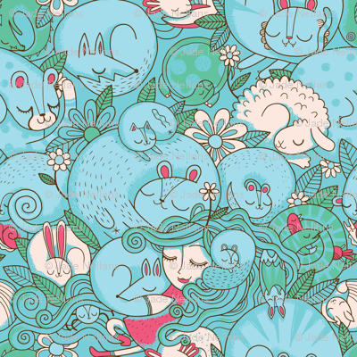 Sleepy Animal Forest