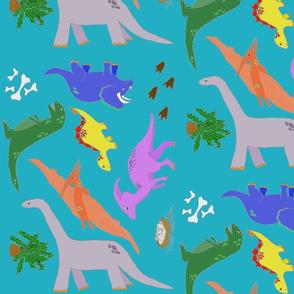 Dinosaurs Large
