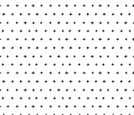 Doodle Cross fabric by dinaramay on Spoonflower - custom fabric