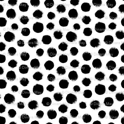 Grunge Polka Dot