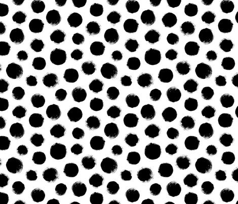 Grunge Polka Dot fabric by dinaramay on Spoonflower - custom fabric