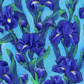 Indigo Irises
