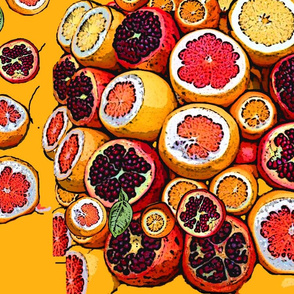 Citrus and Pomegranates