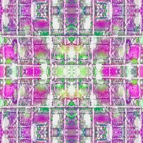 grid   pink  and  purple