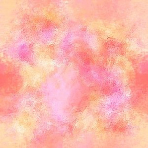 watercolor pink orange blender