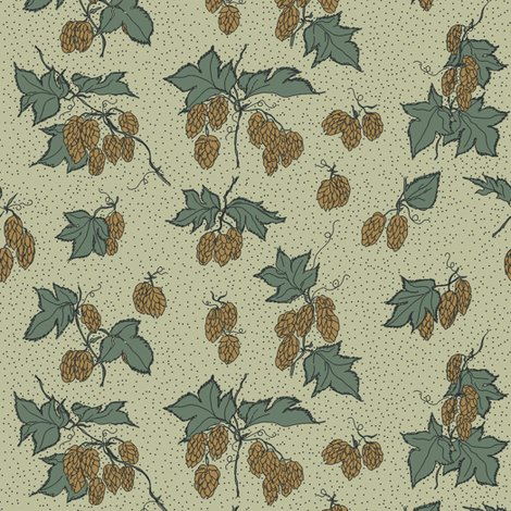 Rrr31._allover_hops_outline_and_dots_repeat_on_pale_green_shop_preview