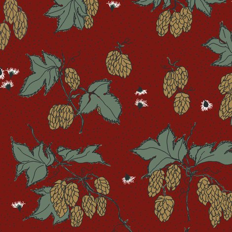 Rr43._hops_all_over_with_burrs_repeat_on_new_red_2_shop_preview