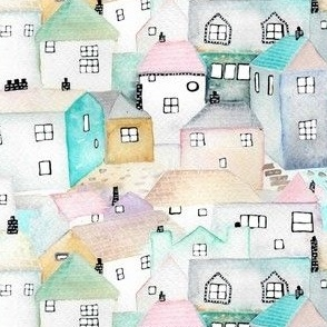 Pastel Cottages