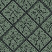 Rrrtile_repeat_45_deg_diamond_shape_charcoal_outline_on_dk_green_bg__shop_thumb