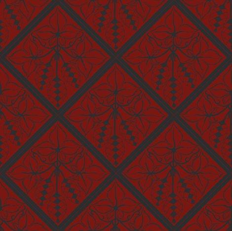 Rrrrtile_repeat_45_deg_diamond_shape_charcoal_outline_on_red_bg__shop_preview