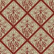 Rrtile_repeat_45_deg_diamond_shape_red_more_shaded_hops_outline_on_pale_green_bg__shop_thumb