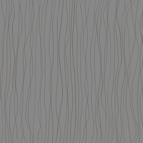 'Trails left in the Dew' brown lines on a grey BG fabric by a_bushel_of_hops on Spoonflower - custom fabric