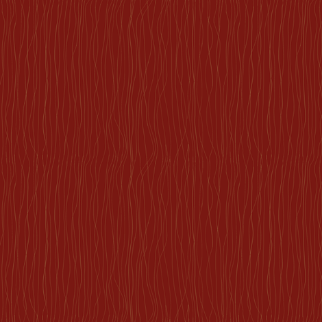 'Trails left in the Dew'  mustard lines on red BG fabric by a_bushel_of_hops on Spoonflower - custom fabric
