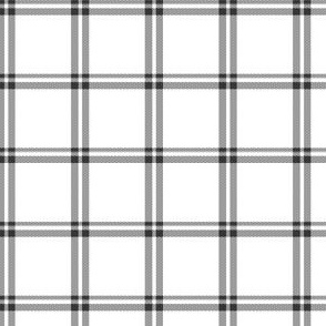 Black and White Plaid 3