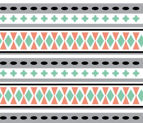 Southwestern Days fabric by nfdesigncreations on Spoonflower - custom fabric