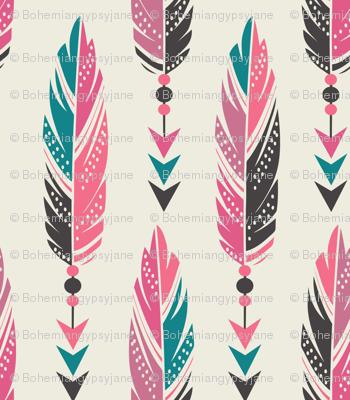 Bohemian Princess Feathers