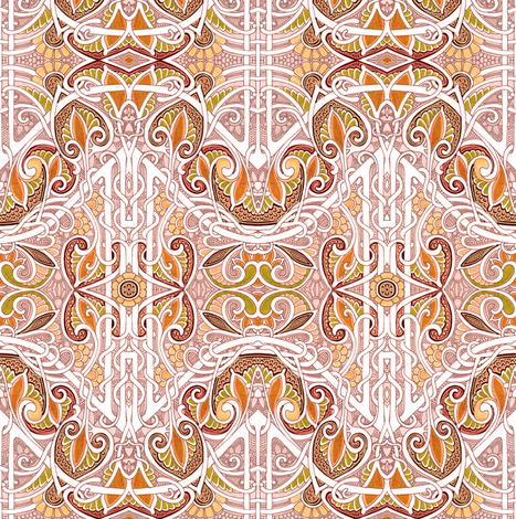 Celebration of Fall fabric by edsel2084 on Spoonflower - custom fabric