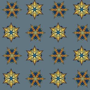 Atomic Stars (medal blue)