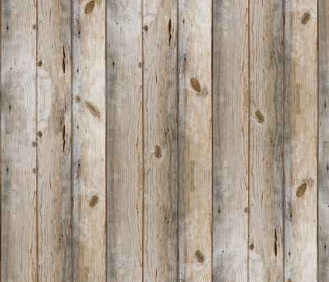 Reclaimed Planks fabric by willowlanetextiles on Spoonflower - custom fabric
