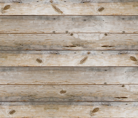 Reclaimed Planks, horizontal fabric by willowlanetextiles on Spoonflower - custom fabric