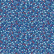 Red White & Blue Striped Stars