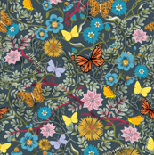 Butterfly Chintz