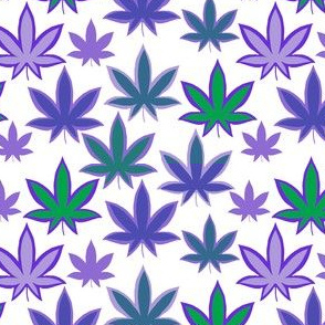 Pot Leaf Purples