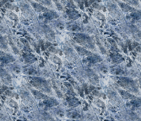 I Dreamt I Dwelt In Marble Halls ~ Sapphire Quartz  fabric by peacoquettedesigns on Spoonflower - custom fabric