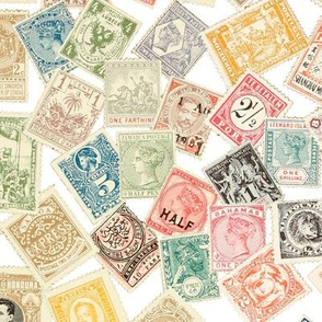 Late 19th Century Stamps