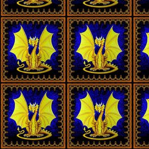 Jeweled_Medallions_gold_dragon_block