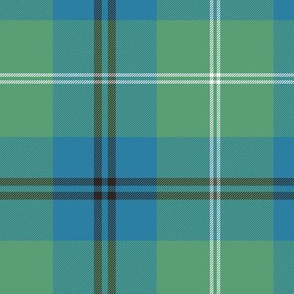 "Oliphant tartan - 6"" ancient colors"