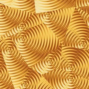 golden ripples