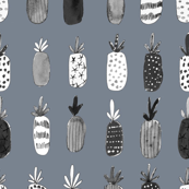 Pineapple Party in Heather Gray