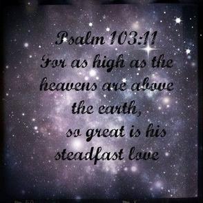 Galaxy - Psalm 103:11