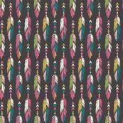Bohemian Princess - Feathers - Multicolor