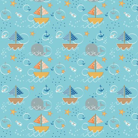 sealove fabric by jodysart on Spoonflower - custom fabric