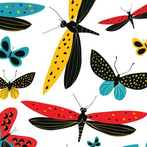 Magic Dancing Butterflies