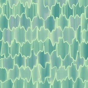 Butterfly Scales (green)