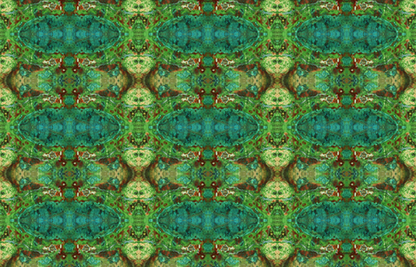 Parrot Wing Jasper Rock  fabric by sewingscientist on Spoonflower - custom fabric