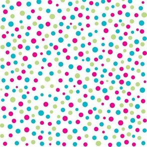 Multicolored Dots Pattern