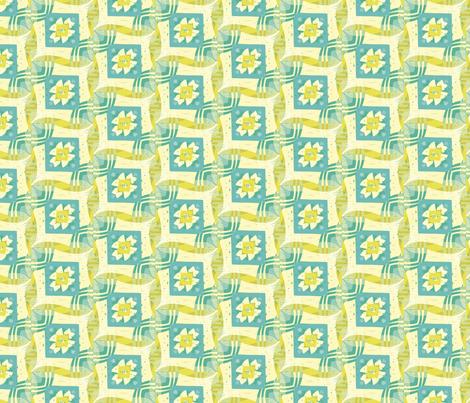 Wavy Dogwood fabric by carolyngramlich on Spoonflower - custom fabric