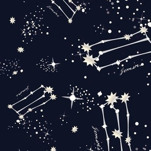 Zodiac Constellations - Gemini