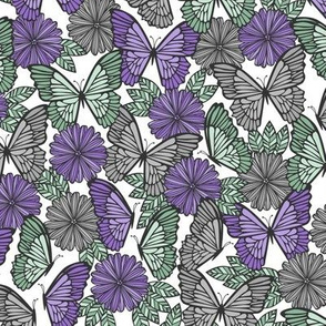 Butterfly Fields (Purple)