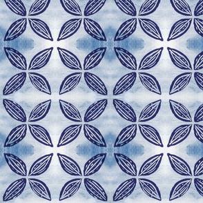 Four Points Blue Flower-ed-ed
