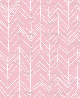 Featherland (pink ground)