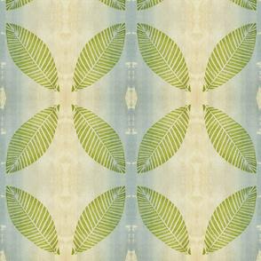 Large Lime Green Leaf-ed